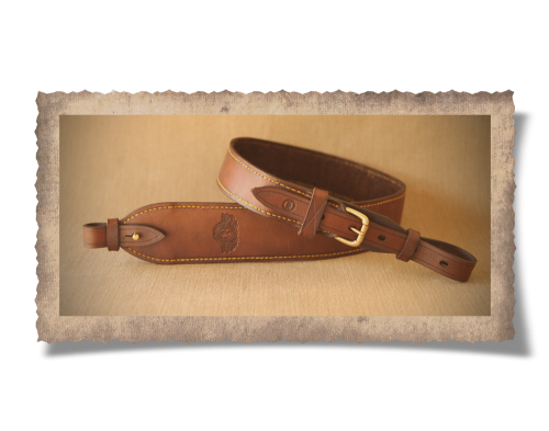 The Graaff-Reinet Leather Rifle Sling 65mm