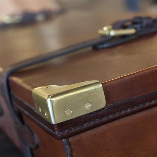 The Matjiefontein Oak & Leather Gun Case