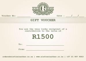 R1500 Gift Voucher