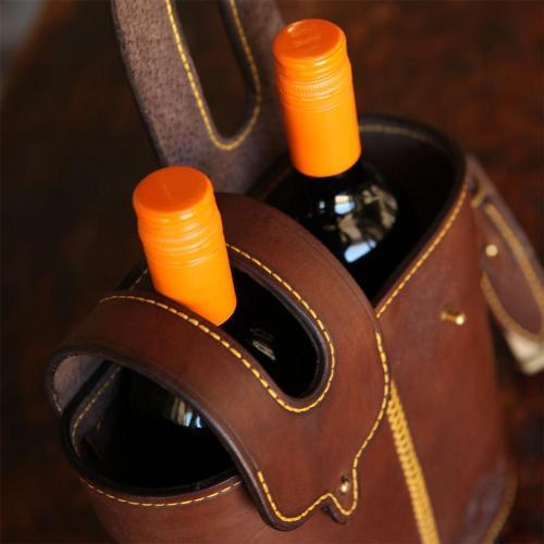 wine, carrier, leather, stellenbosch, els, els & co